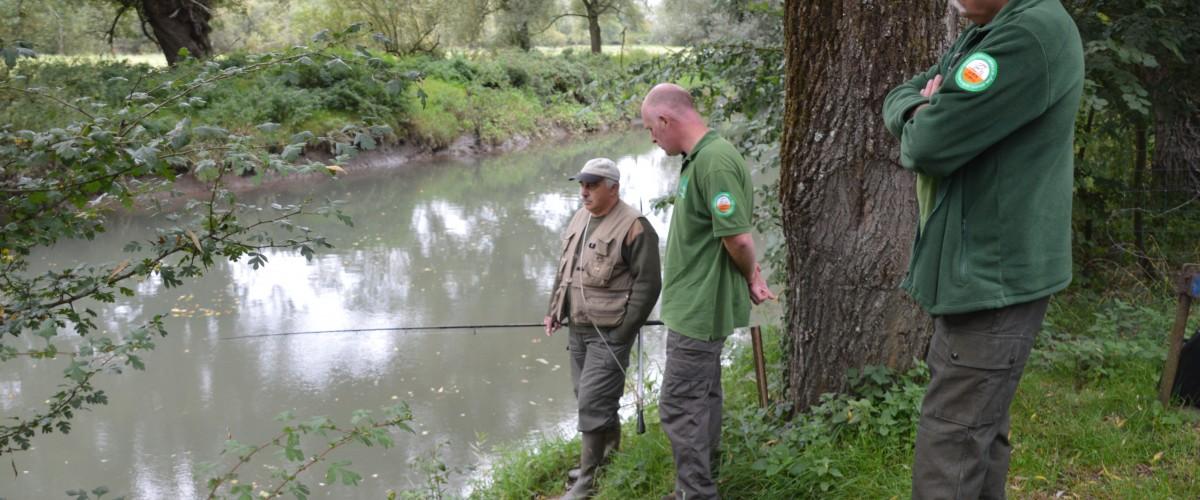 Journée de garderie pêche
