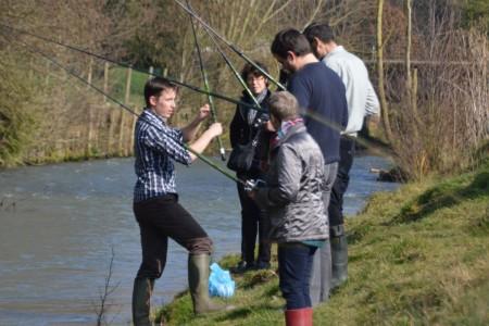 Apprendre ou se perfectionner à la pêche...